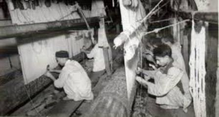 carpet-weaving-craft-of-kashmir-in-1962